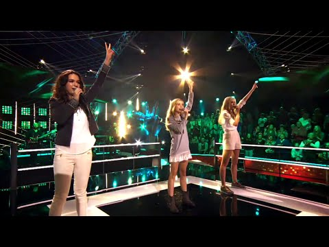 Pien, Lore & Tine - 'Spectrum' | Battles | The Voice Kids | VTM