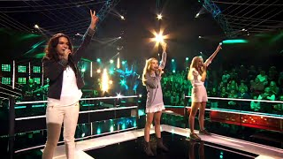 Pien, Lore &amp Tine - &#39Spectrum&#39 Battles The Voice Kids VTM