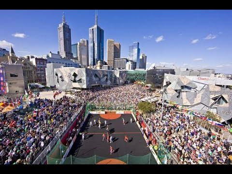 Melbourne 2008 Homeless World Cup Final - TV Coverage