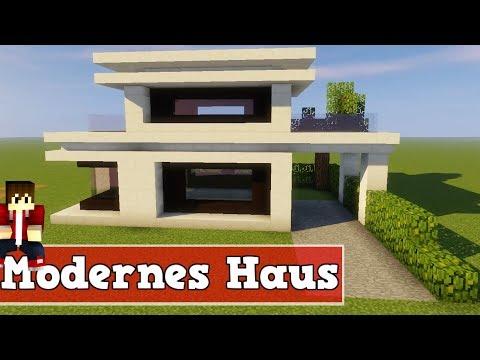 Full download minecraft modernes haus bauen villa for Modernes haus command