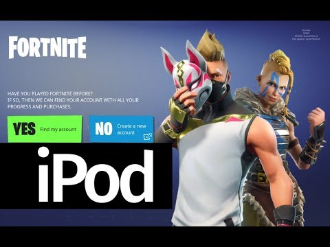 another chance ece48 6321e How to Download Fortnite Battle Royale app FREE - iPod Touch not compatible