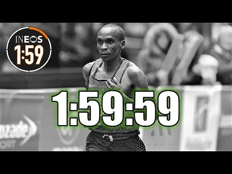 THE 2 HOUR MARATHON || ELIUD KIPCHOGE - THE INEOS 1:59 CHALLENGE RACE DAY