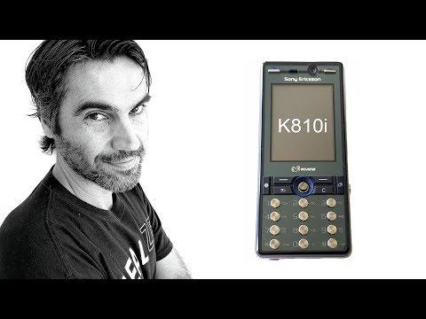 Sony Ericsson K810i, con cámara Cyber-Shot | Retro Review en español