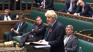 video: Tiered system passes Commons but Boris Johnson suffers biggest backbench rebellion to date