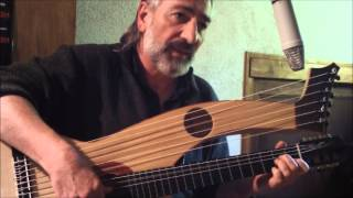 """Anna Marly"" par Julien Heurtebise, guitare-harpe/voix"