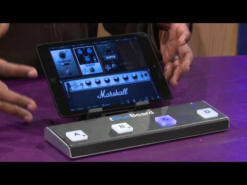 IK MULTIMEDIA iRig BlueBoard Pedaliera Wireless MIDI