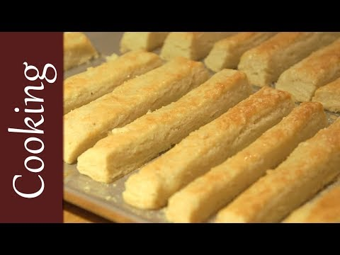How To Make Christmasy Cheese Straws