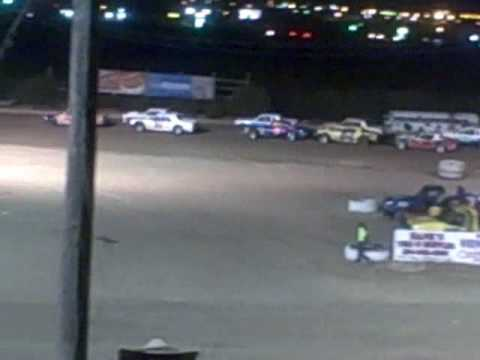 Robert Dose #5 takes second in Street Stock At Texas Thunder Speedway 09-05-09