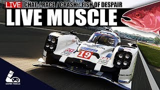 SIM RACING LIVE - GAMER MUSCLE - ASSETTO CORSA - R3E - iRACING