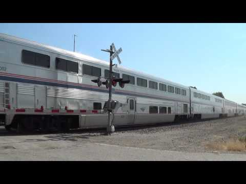 Thumbnail: Eastbound Amtrak with Winter Park Wrap Ad