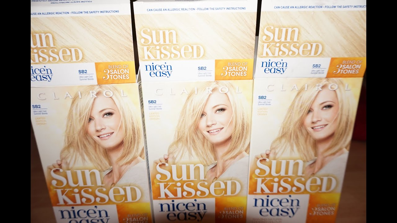 SUN KISSED NICE Amp EASY BLONDE HAIR YouTube