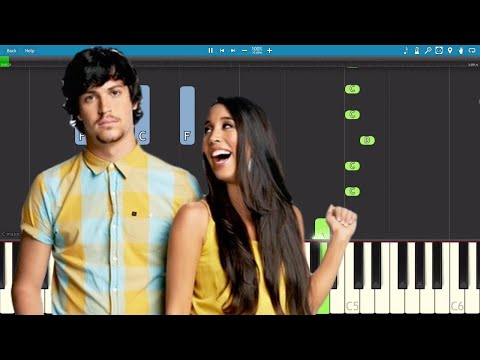 How To Play Little Do You Know - Piano Tutorial - Alex & Sierra