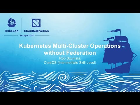 Kubernetes Multi-Cluster Operations without Federation - Rob