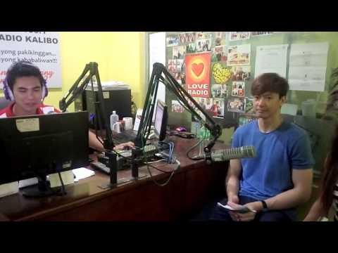 Ronnie Liang at Love Radio Kalibo