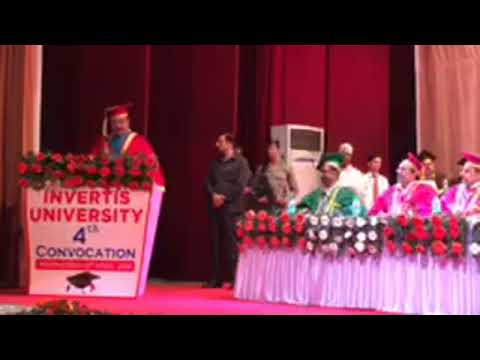 4th Convocation Ceremony of INVERTIS UNIVERSITY