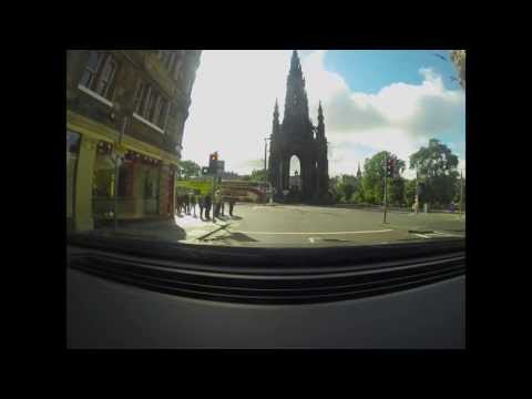 Timelapse: A702 West Linton to Edinburgh (GoPro Hero3 Black Edition)