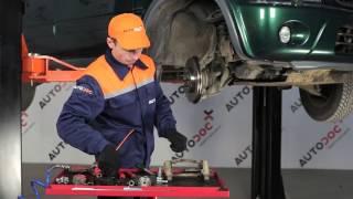 Instalace zadní a přední Brzdové Destičky HONDA CR-V: video příručky