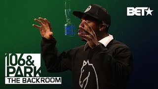LOADED LUX in the 106 BACKROOM!! (freestyle)