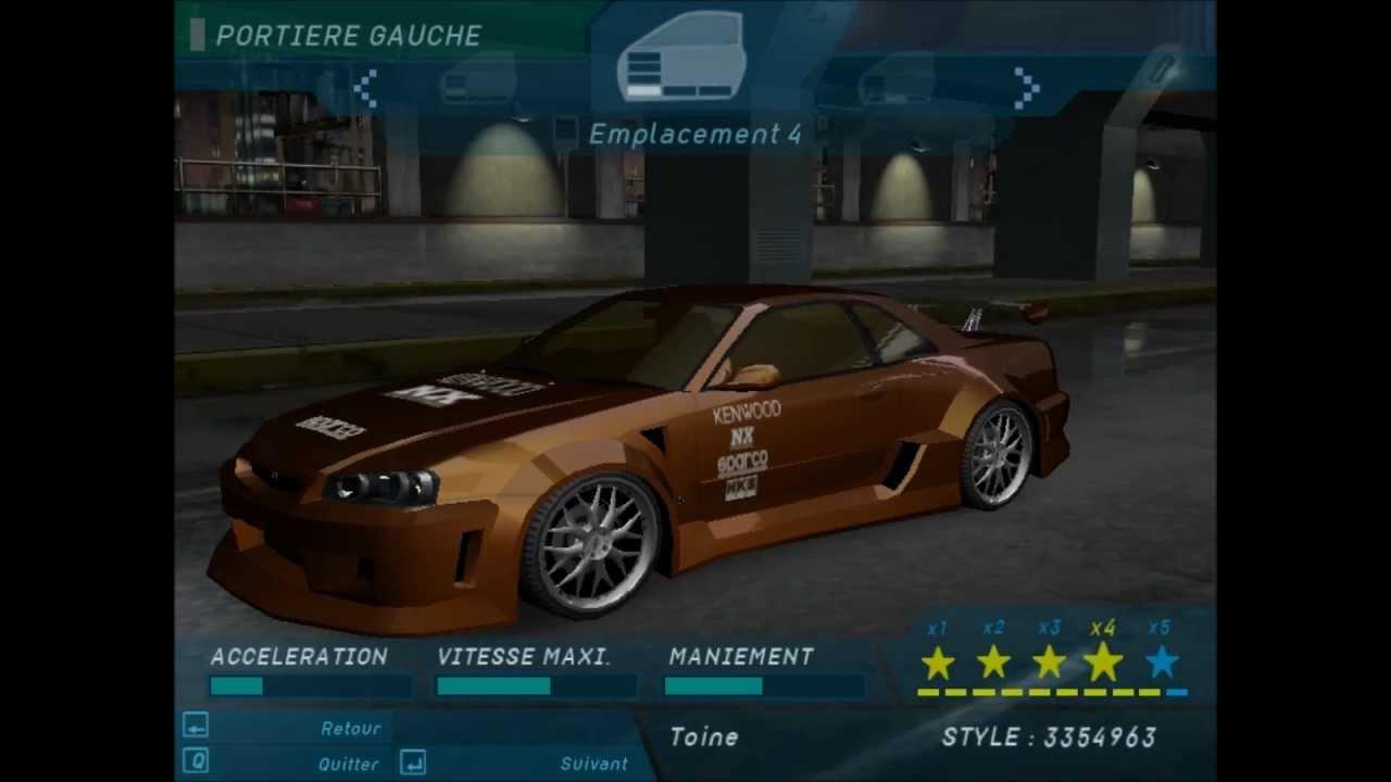 Need For Speed Underground Eddie Nissan Skyline Youtube
