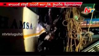 Different Road Accidents in Two Telugu States