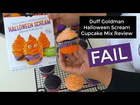 Duff Goldman Halloween Scream Cupcake And Cake Mix Fail Amy Learns