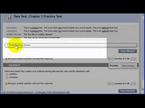How to Create, Deploy, and Review Test results in Blackboard