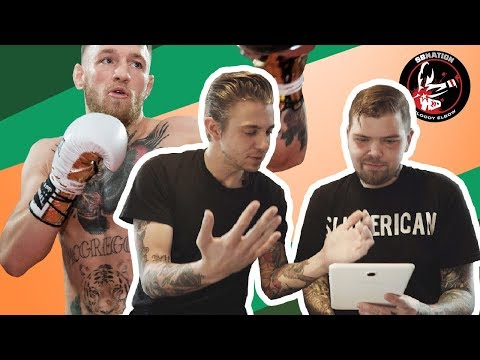 Tattoo Artists React To Conor McGregor's Tattoos