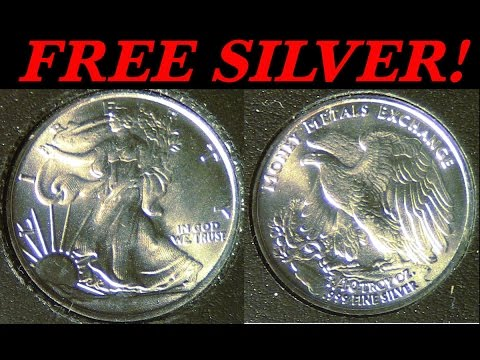 Silver is money and I got a FREE 999 bullion round online!