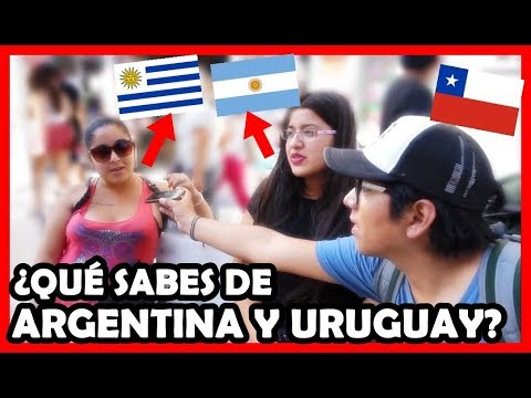 ¿Qué piensan de ARGENTINA y URUGUAY los Chilenos? | Peruvian Life