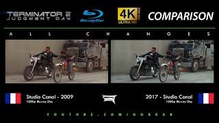 Blu-ray Versus - Terminator 2 (All Changes / 2009 vs 2017)