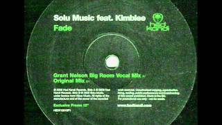 Solu Music feat. Kimblee - Fade (Full 12'' Vocal)