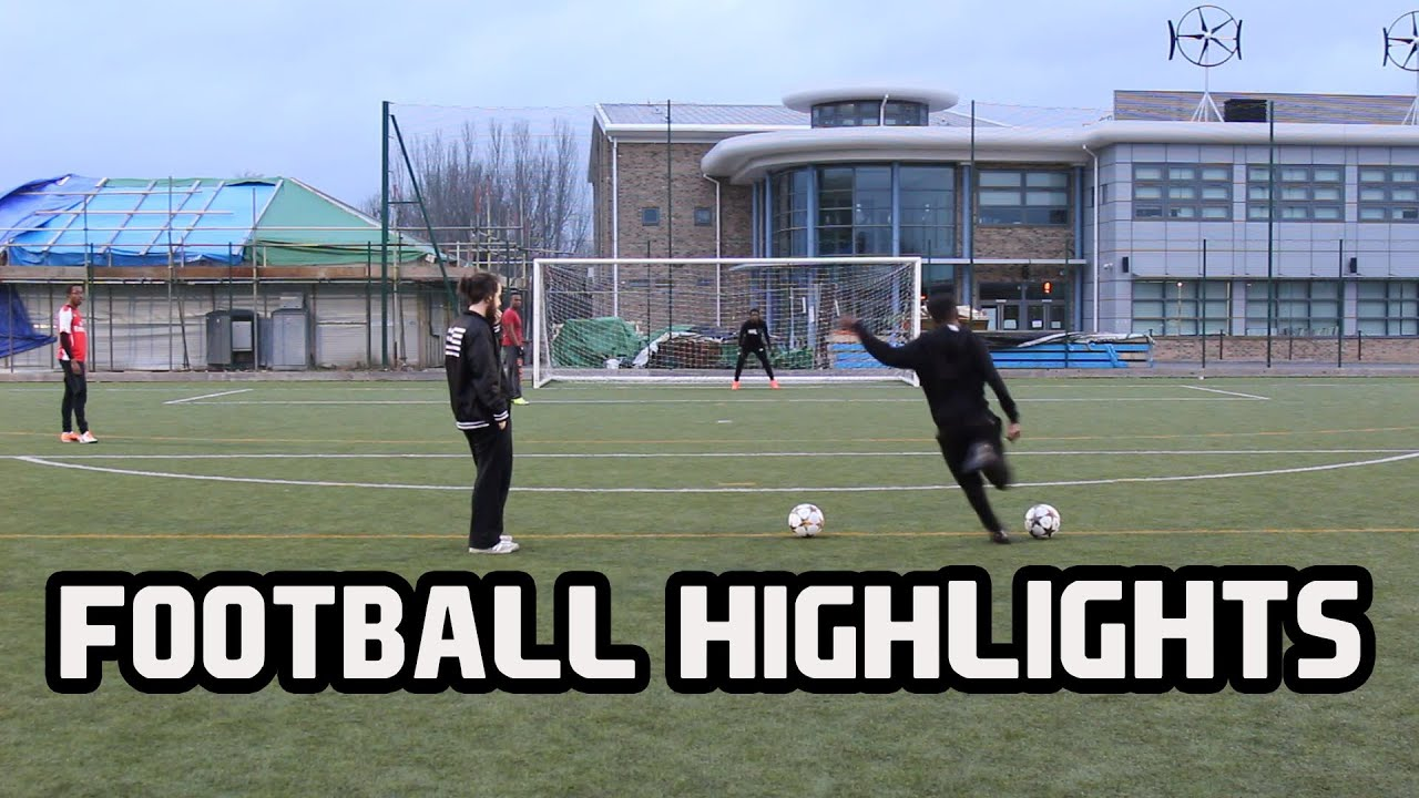 FOOTBALL HIGHLIGHTS WITH THE GUYS!!! - YouTube