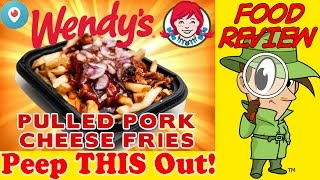 Wendy's® Pulled Pork Cheese Fries Periscope Review! Peep This Out!