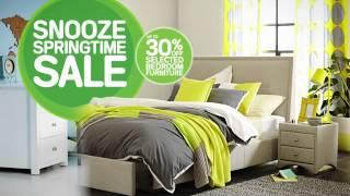 Snooze Springtime Sale