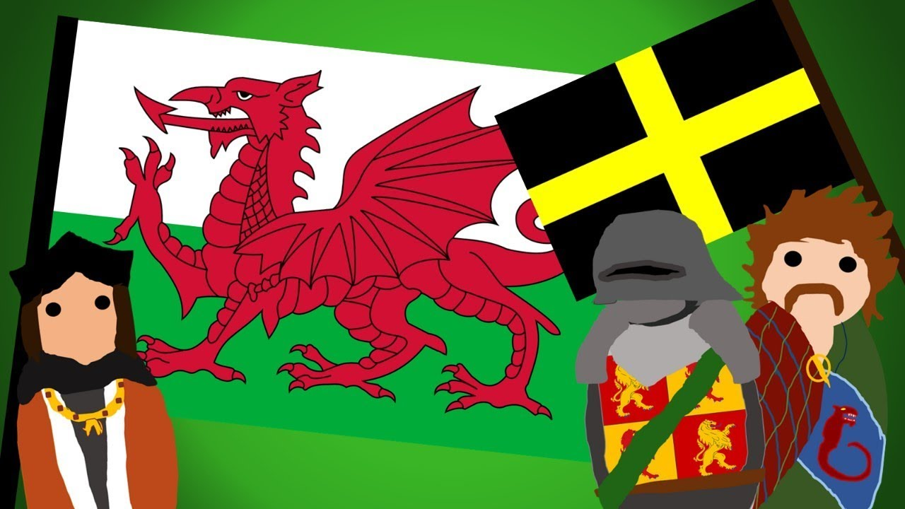 The Welsh Flag History And Meaning Of The Red Dragon Flag Youtube