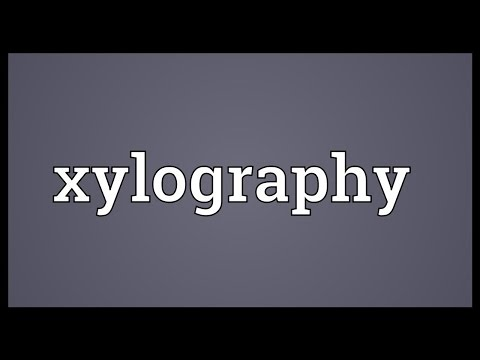 Header of xylography