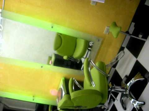 fabrica de muebles para salones de belleza - YouTube