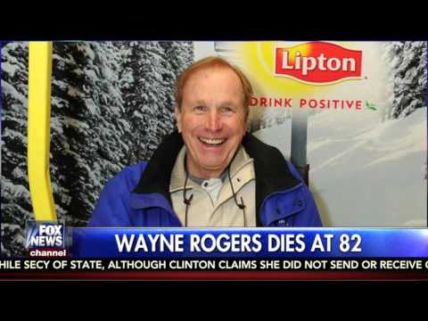Wayne Rogers's Death Announced on Fox