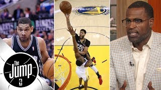 Stephen Jackson: Anthony Davis can be '10 times' better than Tim Duncan | The Jump | ESPN