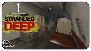 Stranded Deep Gameplay - Episódio 1 -  Sobrevivendo o Primeiro Dia! (Em Português)