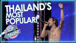 Thailand's MOST VIEWED Got Talent Auditions! | Top Talent