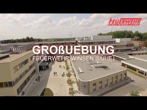 Feuerwehrgroßübung im Krankenhaus Winsen (Luhe)