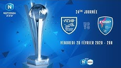 24e journée : Villefranche - Bourg en Bresse I National FFF 2019-2020