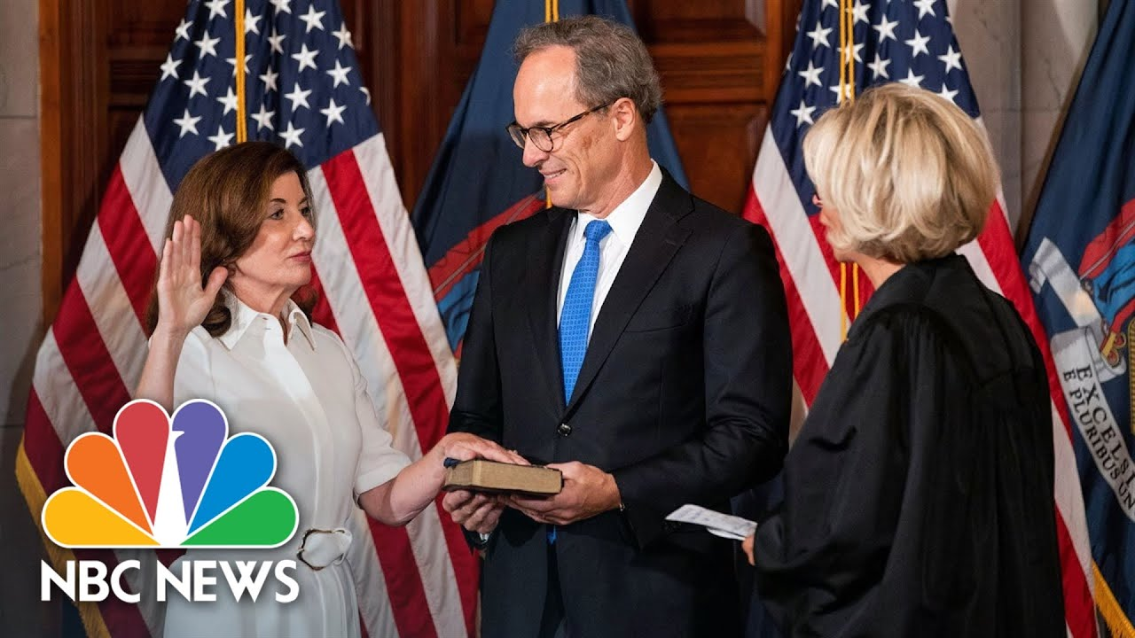 Kathy Hochul Sworn In As New York State's 57th Governor
