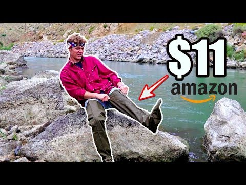 TESTING The CHEAPEST WADERS On AMAZON!!!