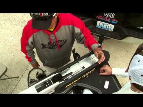 Mounting A Fish Finder On A Trolling Motor Doovi
