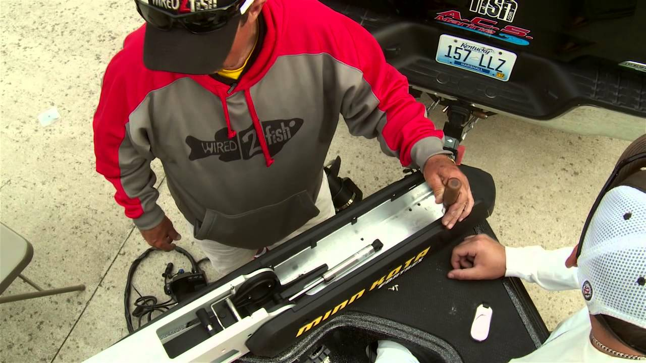 Installing A Minn Kota Riptide Trolling Motor Wiring Diagram Motorcycle Review And Diy Fortrex 112 You