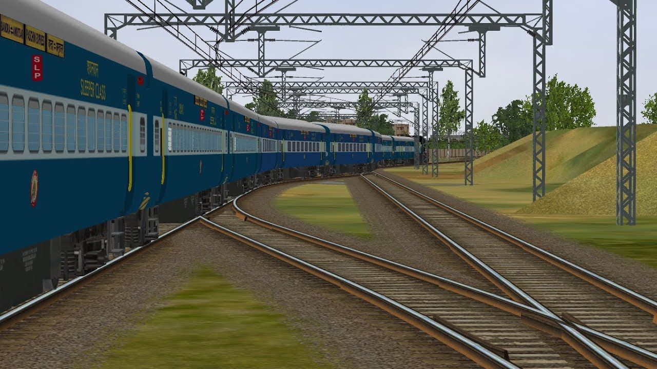 MSTS Open Rails - ICF Sounds Testing||Sounds by Ayush Singh
