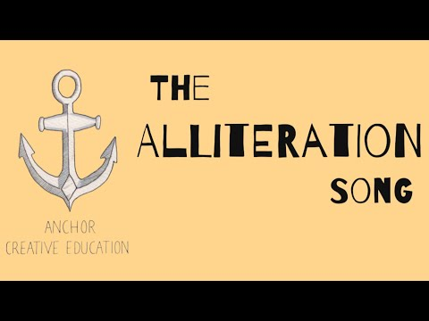 The Alliteration Song