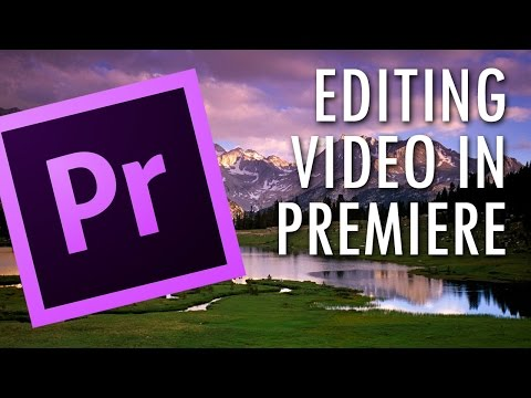 Premiere CC - Sincronizzazione audio, editing, color correction ed esportazione per youtube!